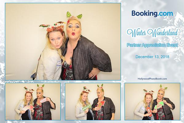 Booking.com's Winter Wonderland