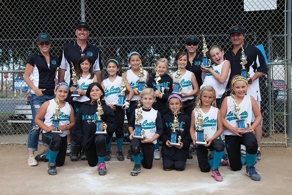 2013-0602 Lady Mavs 2nd Place Trophy
