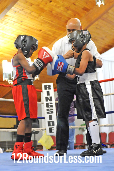 Bout 7 Travell Fain, Akron -vs- Latrell King, Cleveland, 60 lbs
