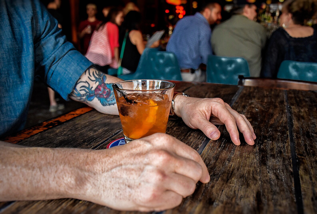 . Punch Bowl Social (1086 W. 11th St., Cleveland) is offering $5 Old Fashioneds all day on Father\'s Day, June 17. The day\'s Blue Plate specials include alf Roasted Chicken with parmesan grits, peperonata and basil oil or Bone in Pork Chop with miso creamed spinach, crispy fingerlings, boiled peanut romesco and scallions. After the feast (or during, because you can), customers can enjoy ping-pong, skeeball or foosball. Punch Bowl Social opens at 9 a.m. Sundays. For reservations and more information, visit punchbowlsocial.com. (Submitted)