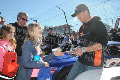 Autograph Session, Fans, Best Appearing, & Sponsor Display