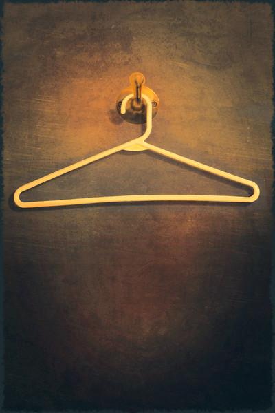 Sturdy Plastic Hanger