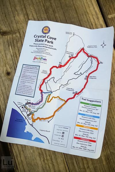 Crystal Cove State Park/Beach