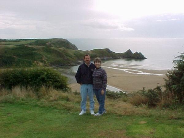 Dale Betty Three Cliffs Bay - Wales.JPG