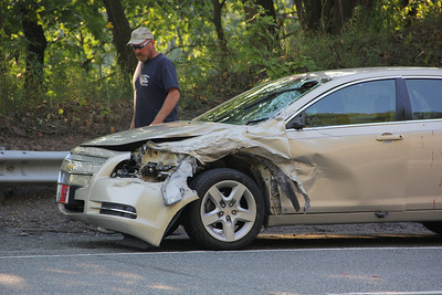 Motor Vehicle Accident, Car vs Truck, SR902, Lehighton, Palmerton (8-31-2012)