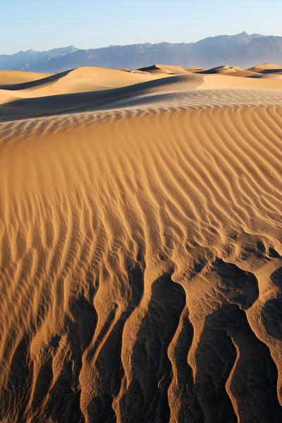 Mesquite Flat Dunes of Death Valley