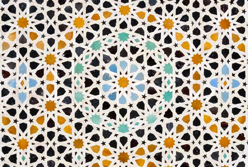 Tile Mosaic Detail, Fez