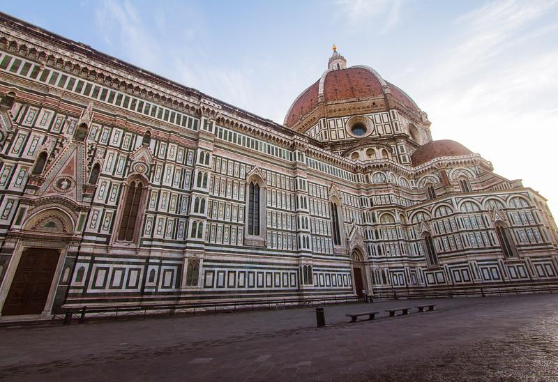 The Basilica di Santa Maria del Fiore in Florence