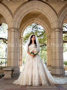 Missy Bridal Photos at FUMC Fort Worth