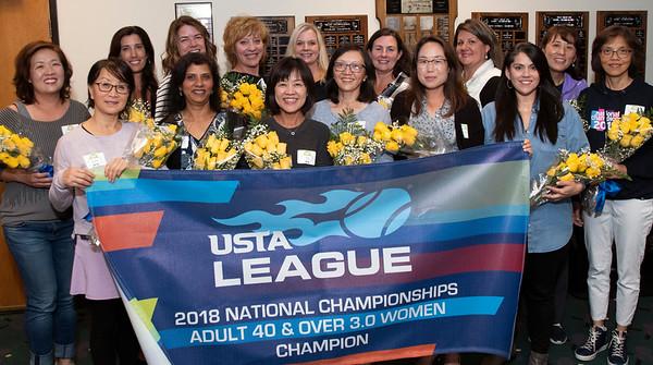 Tennis Champions, Women's 3.0 10/18