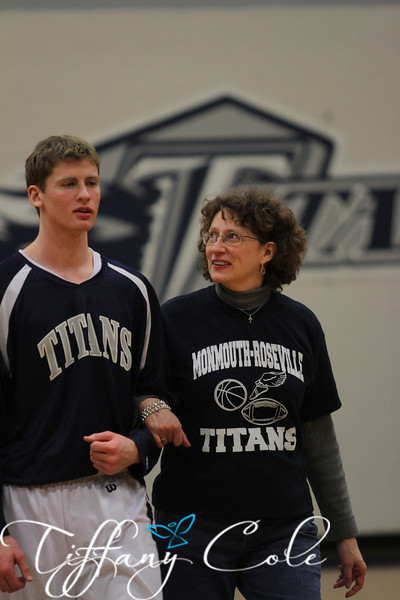 Titans Basketball Sr Night 2013
