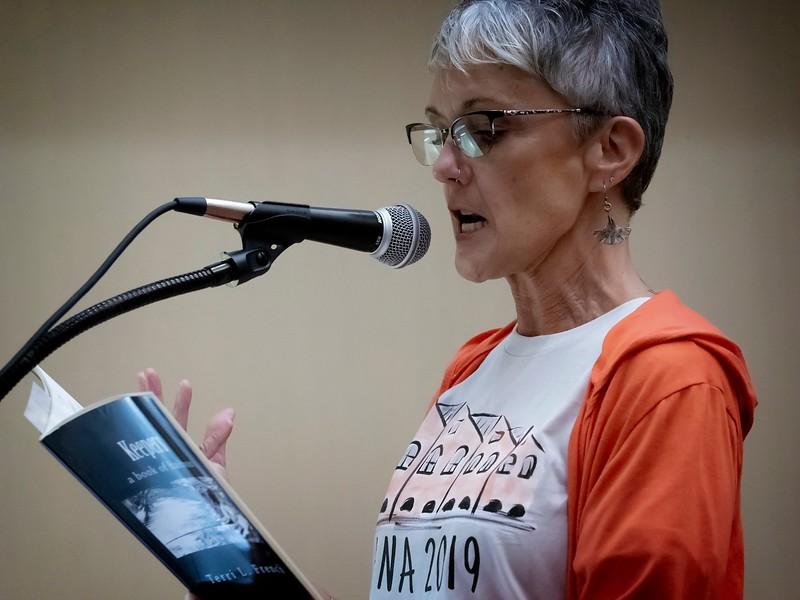 Terri L. French reads from Keepers: A Book of Haibun.