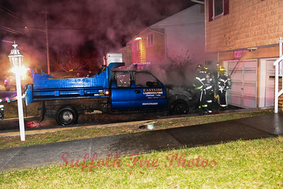 Vehicle Fire - East Patchouge, NY - 12/10/20