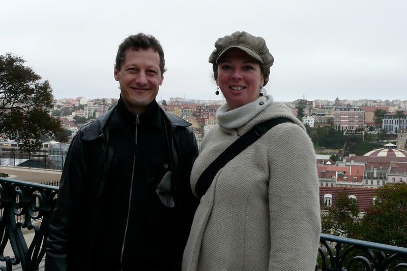 Cute Couple. Bairro Alto, Lisbon