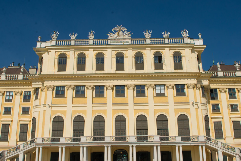 shoennbrun palace - one of the hapsburg homes.