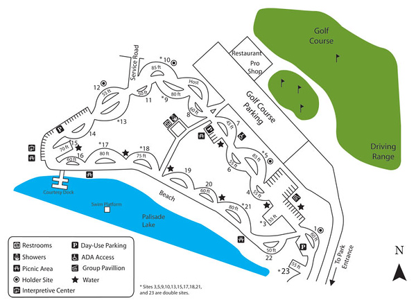 Palisade State Park (Arapeen Campground)