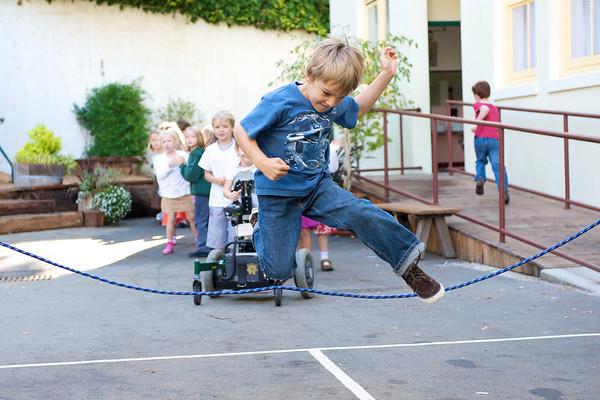 1st Grade Jumps for Joy