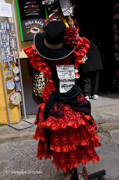 Tue 3/15 in Seville: Flamenco dress for a little girl