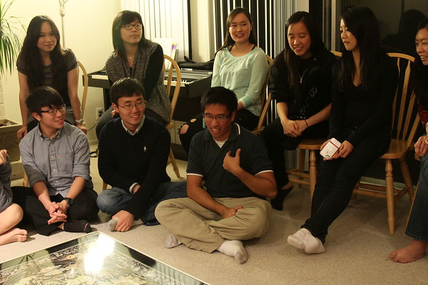 2012.11.21 IUSM Thanksgiving Dinner