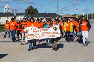 Residential School Survivors Walk 2015 Sept 30