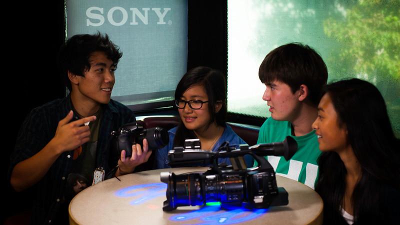 2012_10_25, CA, High School, Sony, Student Tours, Torrance, West High School