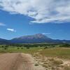 Spanish East and West Peaks from La Veta, Colorado