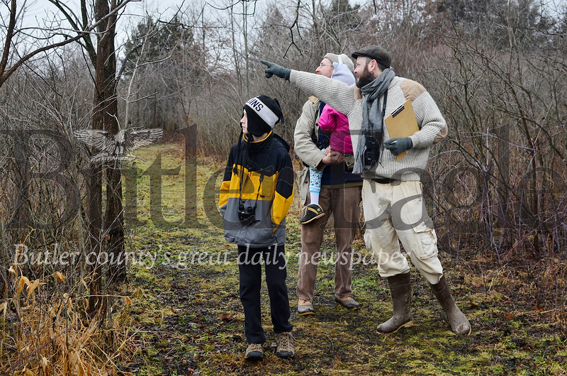 Saturday's Kids Christmas Bird Count at Succop Nature Center drew a small crowd, but the group was join one part of a massive undertaking conducted across the nation. This was the count's 120th year running, and it's considered the world's longest running citizen science project.