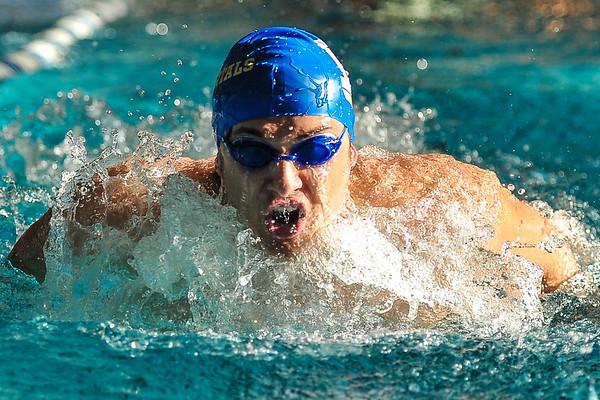 1/28/18 2:50:33 PM Swimming and Diving: RIT v Hamilton College at Bristol Pool, Hamilton College, Clinton, NY <br /> <br /> Photo by Josh McKee