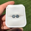 4.08ctw Old European Cut Diamond Pair, GIA I VS2, I SI1 60