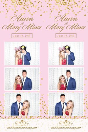 Aaron & Mary Minor (prints)