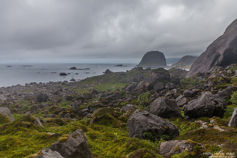 Rocky Path, Outer Side Lofoten