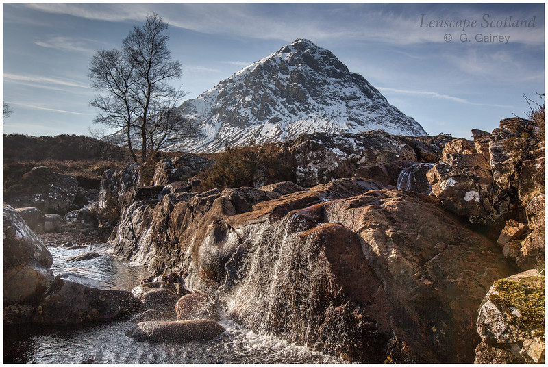 Stob Dearg (Buachaille Etive Mor) from the River Coupall (2)