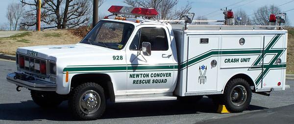 Newton-Conover Rescue Squad (Former)