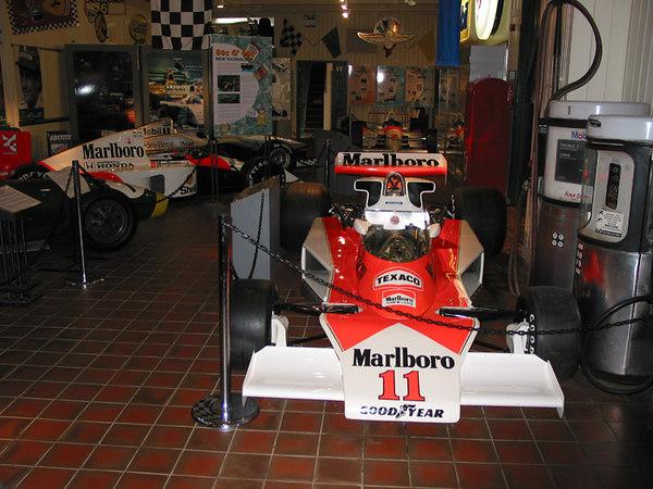 McLaren F1 racecars, Brooklands Museum.