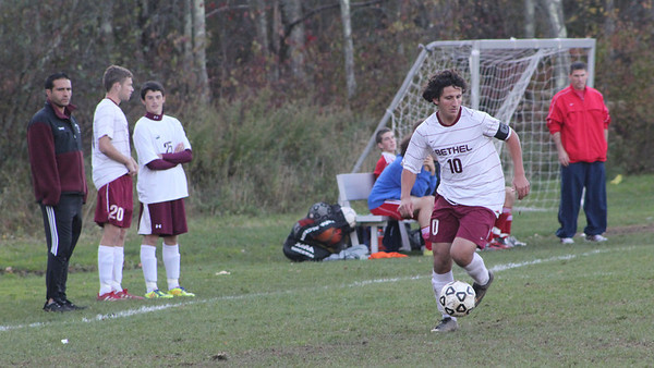 Varsity Boys Soccer vs New Fairfield - 10/25/2011