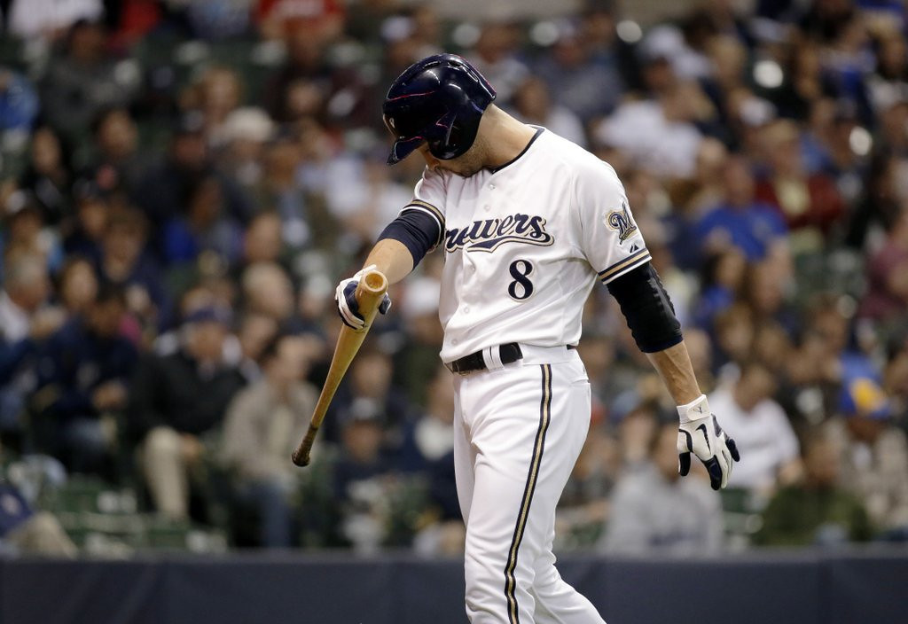". <p><b><a href=\'http://www.twincities.com/twins/ci_23392260/ryan-braun-brewers-star-among-at-least-20\' target=""_blank\""> 1. (tie) Ryan Braun </a></b> <p> Fittingly, could be suspended 100 games in a season the Brewers are 100 games out of first place. (unranked) <p> --------------------------------------------    (AP Photo/Morry Gash)  <br><p><b>Others receiving votes</b> <p> Robinson Cano, Biogenesis of America, Pedro Gomez, Sammy Sosa, human growth hormone, Francisco Cervelli, Roger Clemens, BALCO, Nelson Cruz, Fautino De Los Santos, Yasmani Grandal, steroids, Fernando Martinez, Jesus Montero, Victor Conte, Jordan Norberto, Jhonny Peralta, South Florida, Cesar Puello, Rafael Palmeiro, Miami Hurricanes. <p> <br><p>Follow Kevin Cusick on <a href=\'http://twitter.com/theloopnow\'>twitter.com/theloopnow</a>."