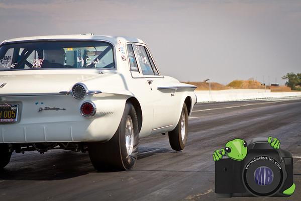 White Dodge Dart (2)