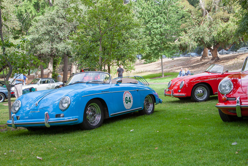 1957 Porsche 356 1600 Speedster, owned by Dennis Williams