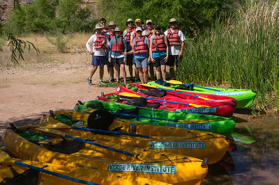 6-2-18 Verde River Institute Kayaking