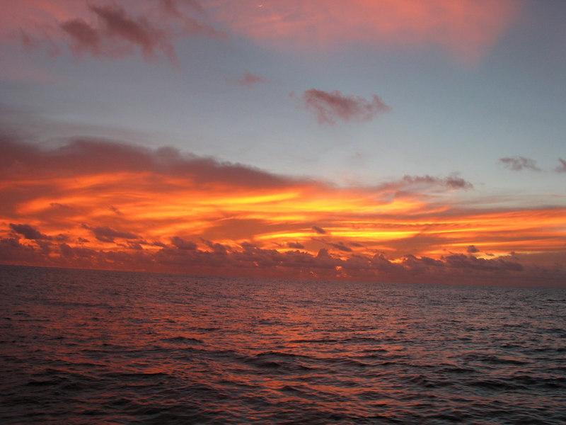 Sailing from Bora Bora to Hawaii