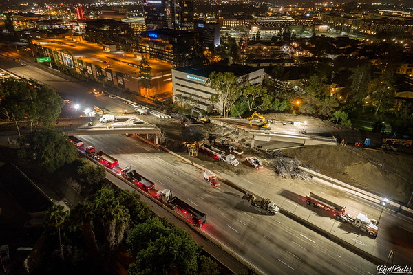 Bridge Demolition Prompts Full Freeway Closure - August 14th, 2018