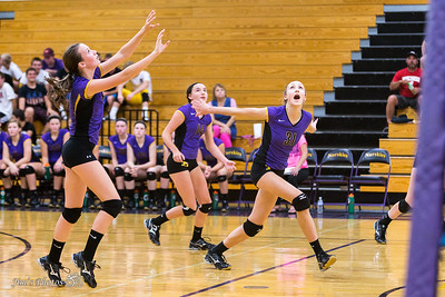 HS Sports - DeForest JV Volleyball - Sept 17, 2015