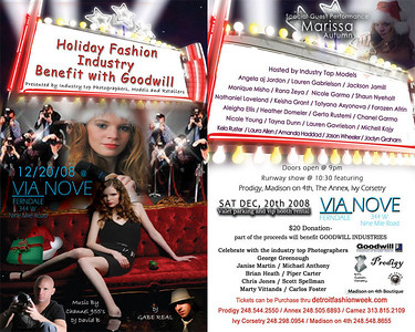 Holiday Fashion Industry Benefit with Goodwill