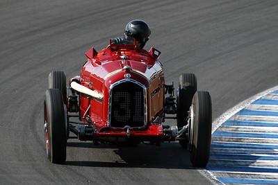 2008 Monterey Historics - Ferrari Historic Challenge - both groups - on track