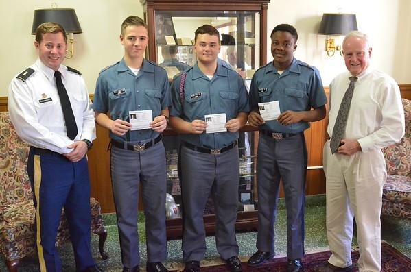 Cadets Receive PADI SCUBA Certification