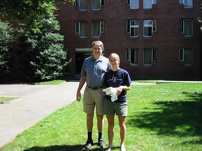 Freshman at Harvard, September 2001