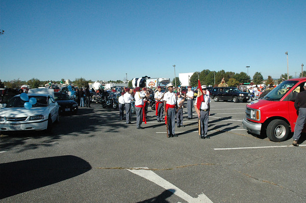 Dillard Guard Marches in RR Festival