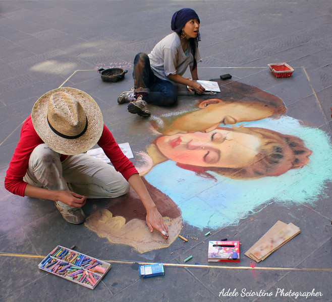 Street  Pastel Painters