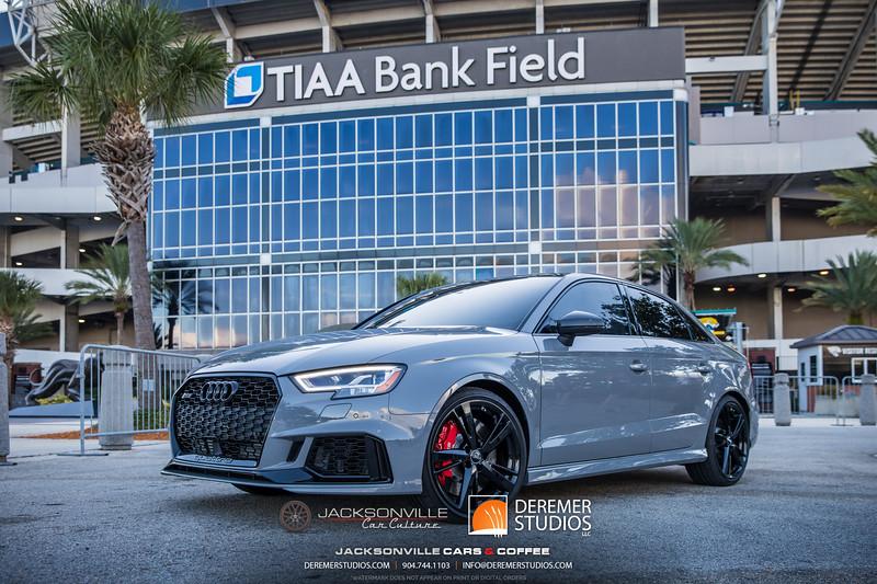 2019 Jax Cars and Coffee at TIAA Field 011 POSED - Deremer Studios LLC