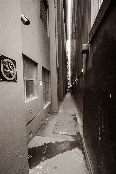 A'Becket Street from Swanston Street